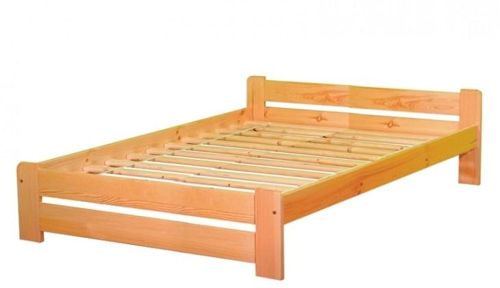 Dřevěná Anetka 180x200 (borovice masiv)