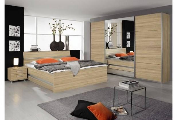 Dřevěná Apulien - 160x200 cm