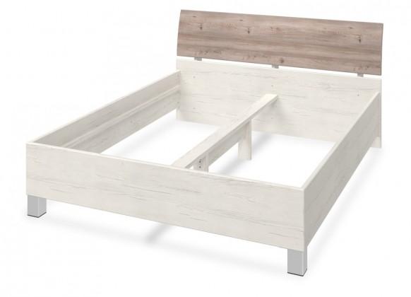 Dřevěná Arianna - Ložnicová postel, 407000 (dub nelson)