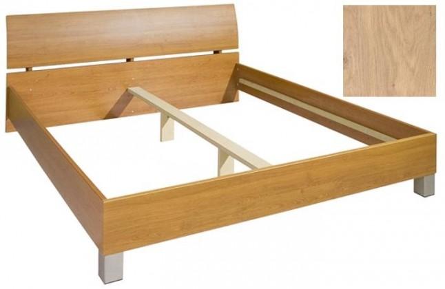 Dřevěná Cassanova 180/200 (dub sukatý)