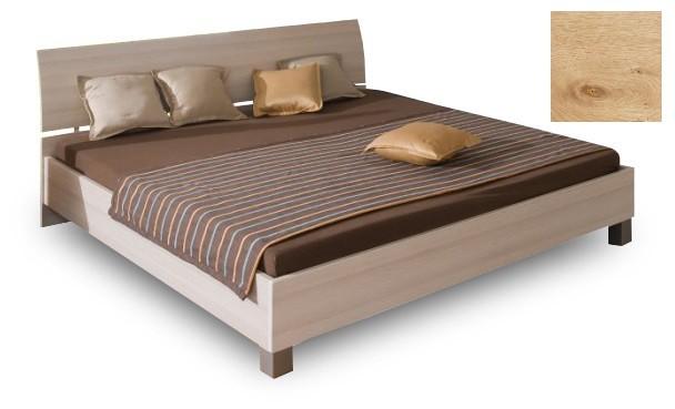 Dřevěná Cassanova-Postel 180/200,bez roštu,bez matrace