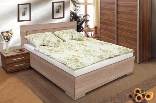 Dřevěná Dafne 2 180x200 (dub bardolino)