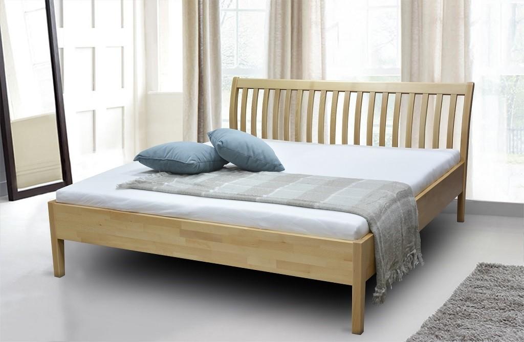 Dřevěná Dřevěná postel Apolonia 180x200, buk