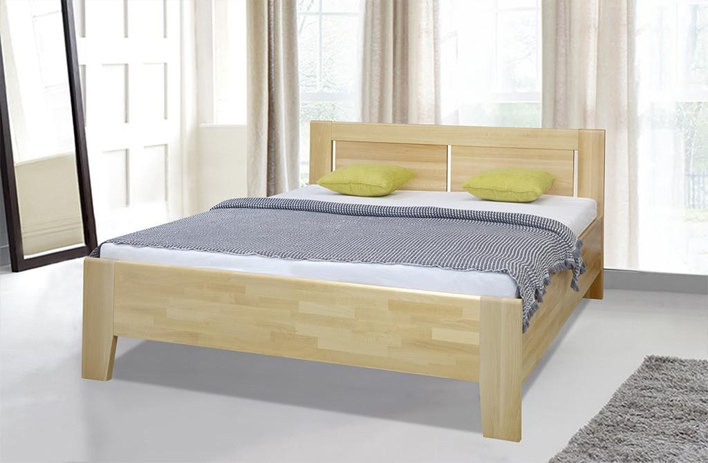 Dřevěná Dřevěná postel Noe 180x200, buk