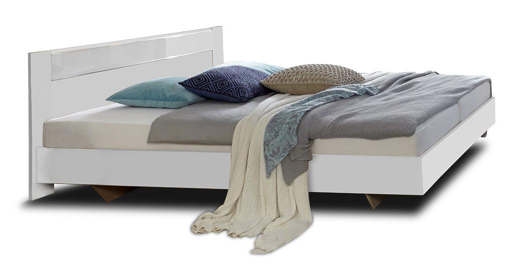 Dřevěná Dřevěná postel Petra 180x200 cm, bílá
