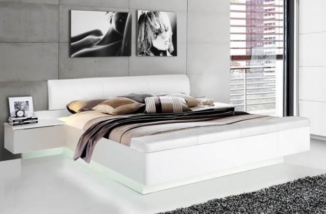 Dřevěná Dřevěná postel Starlet Plus 180x200 cm, bílá