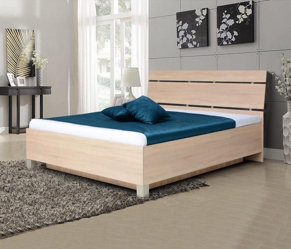 Dřevěná Dřevěná postel Zara 180x200, bardolino, ÚP