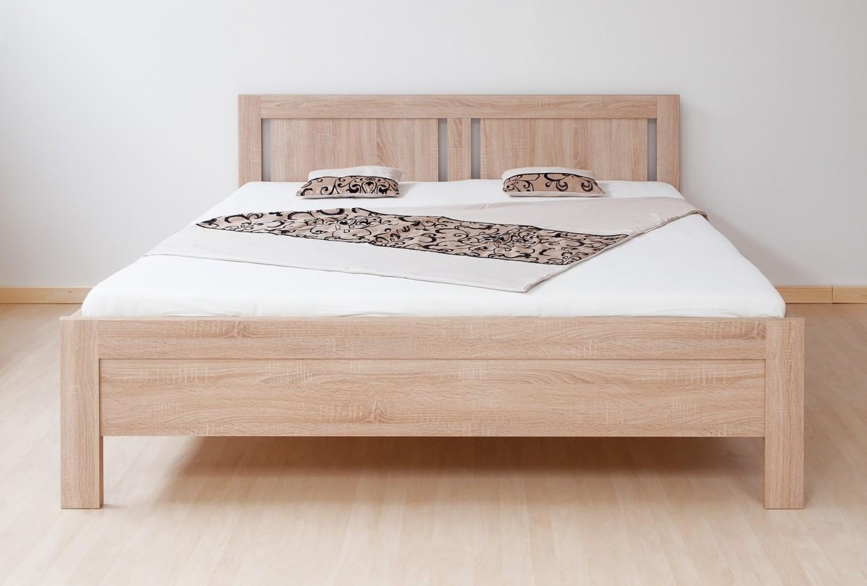 Dřevěná Lucy - postel 200x180 + rošt