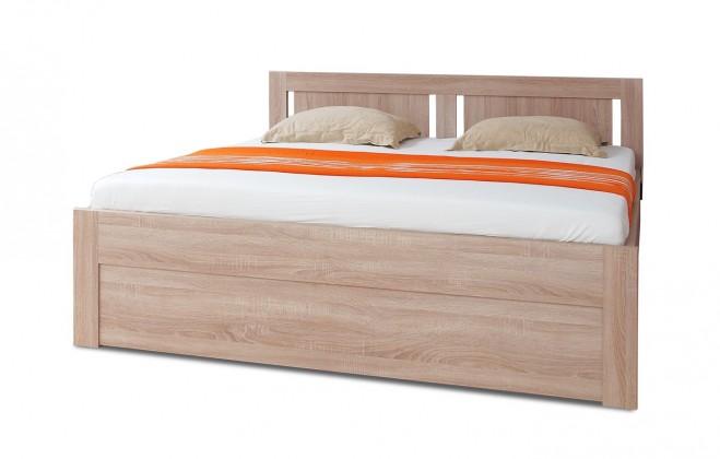 Dřevěná Mia - postel 200x160 + rošt a úložný prostor