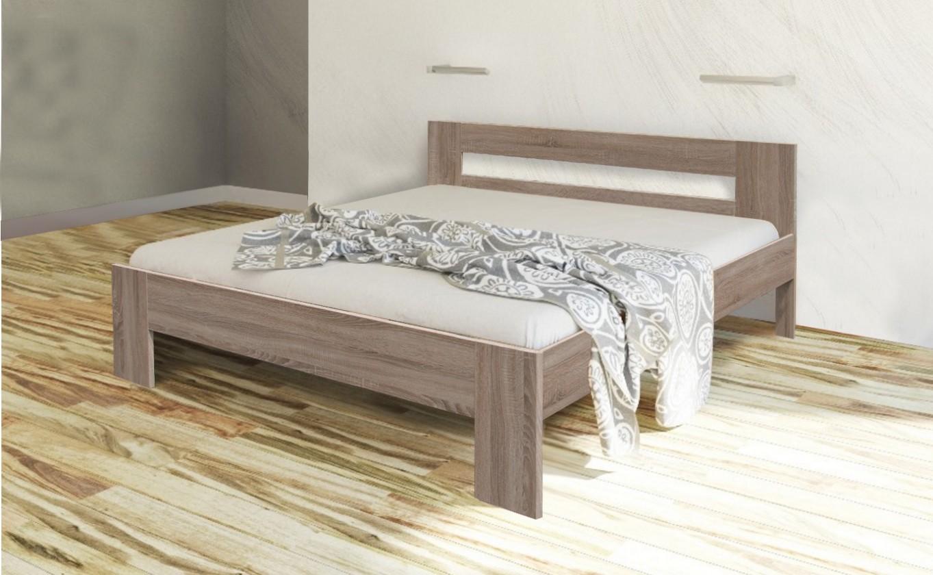 Dřevěná Nikola II - 200x160 (dub sonoma 8197)