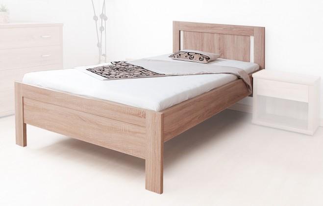 Dřevěná Postel Lucy 90x200, vč. roštu, bez matrace
