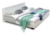 Dřevěná postel Pamela 140x200 cm, bílá