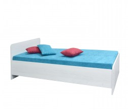 Dřevěná postel Play 90x200 cm, pino aurelio, s úložným prostorem