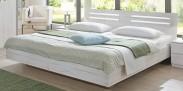Dřevěná postel Susan 160x200 cm, bílá