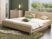 Dřevěná postel Uno 180x200 cm, s úložným prostorem