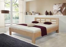 Dřevěná postel Vegas 2, 180x200, vč. výkl.roštu a úp,bez matrace