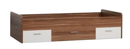 Dřevěná Quadro QDRL09 (Ořech/bílá)