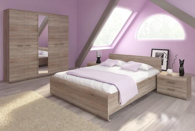 Dřevěná Rám postele Link 160x200, dub