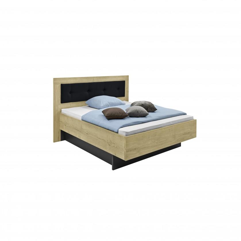 Dřevěná Tender - 5772360 (divoký dub nature/feelwood/antracit)
