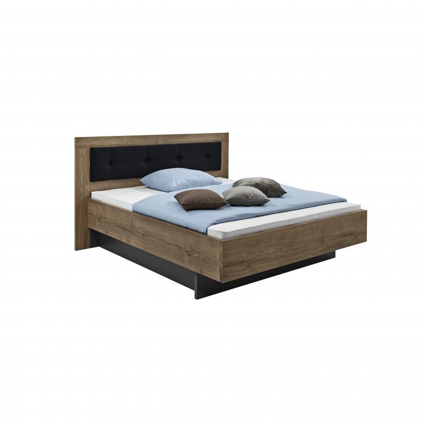 Dřevěná Tender - 5774340 (divoký dub antický/feelwood/antracit)