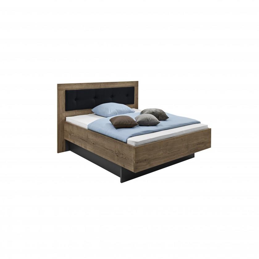 Dřevěná Tender - 5774360 (divoký dub antický/feelwood/antracit)