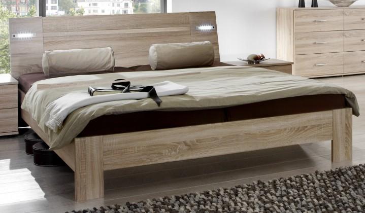 Dřevěná Vicenza - Postel 160x200 cm (dub)