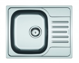 Dřez Franke - nerez PXN 611-60 3 1/2, 615x490 mm (stříbrná)