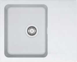 Dřez Franke - Tectonite OID 611-62, 620x500 mm (bílá)
