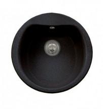 Dřez Hydria 48,5 1B - výtok.otvor 92 (černý granit)