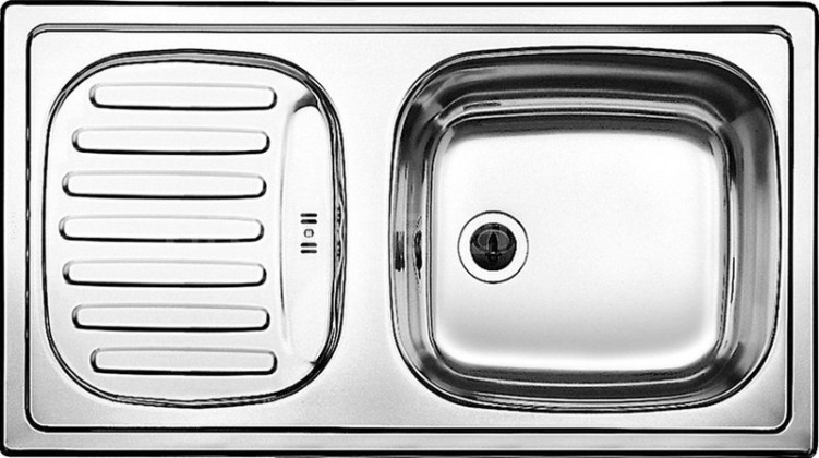 Dřez rovný Dřez DKL 02, nerez, 78x43 cm