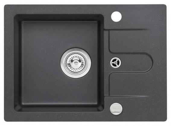 Dřez rovný Dřez DKL 05, granit, 58x42 cm
