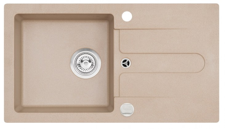 Dřez rovný Dřez DKL 08, granit, 75x42 cm
