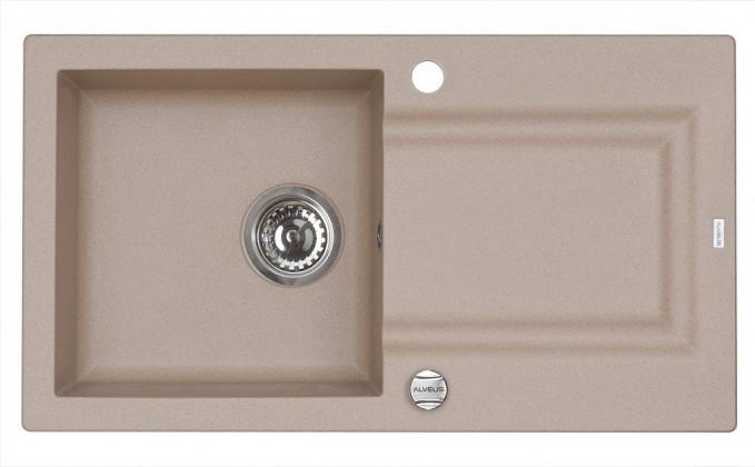 Dřez rovný Falcon 30 - Dřez (granit, beige 55)