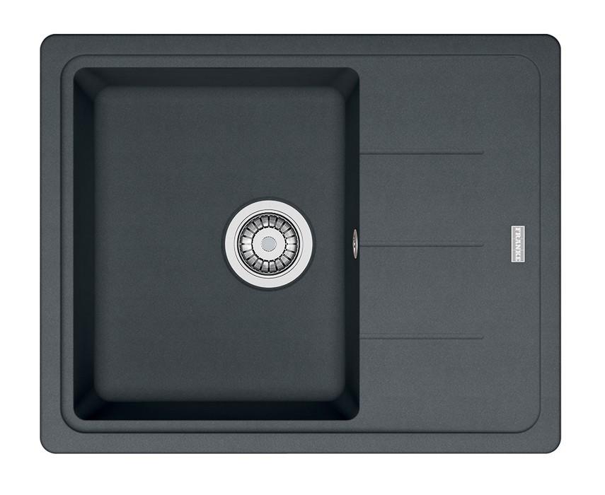 Dřez rovný Franke - dřez Fragranit BFG 611-62, 620x500 (grafit)