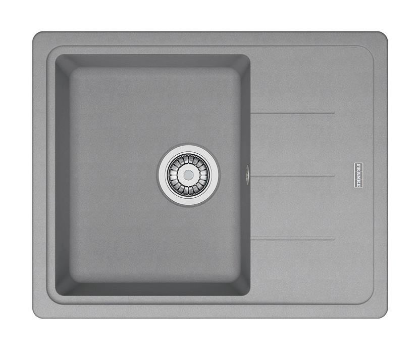 Dřez rovný Franke - dřez Fragranit BFG 611-62, 620x500 (šedý kámen)