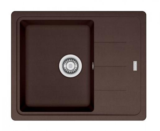 Dřez rovný Franke - dřez Fragranit BFG 611-62, 620x500 (tmavě hnědá)