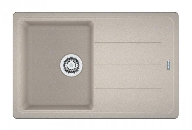 Dřez rovný Franke - dřez Fragranit BFG 611-78, 780x500 (sahara)