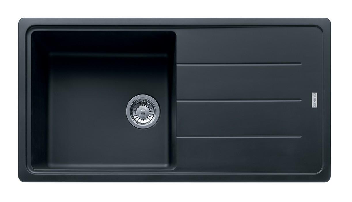 Dřez rovný Franke - dřez Fragranit BFG 611, 970x500 (grafit)