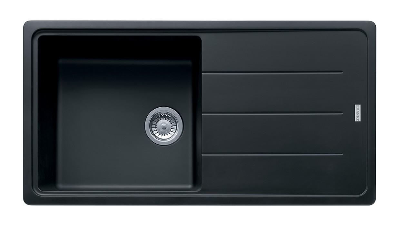 Dřez rovný Franke - dřez Fragranit BFG 611, 970x500 (onyx)