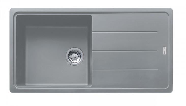 Dřez rovný Franke - dřez Fragranit BFG 611, 970x500 (šedý kámen)