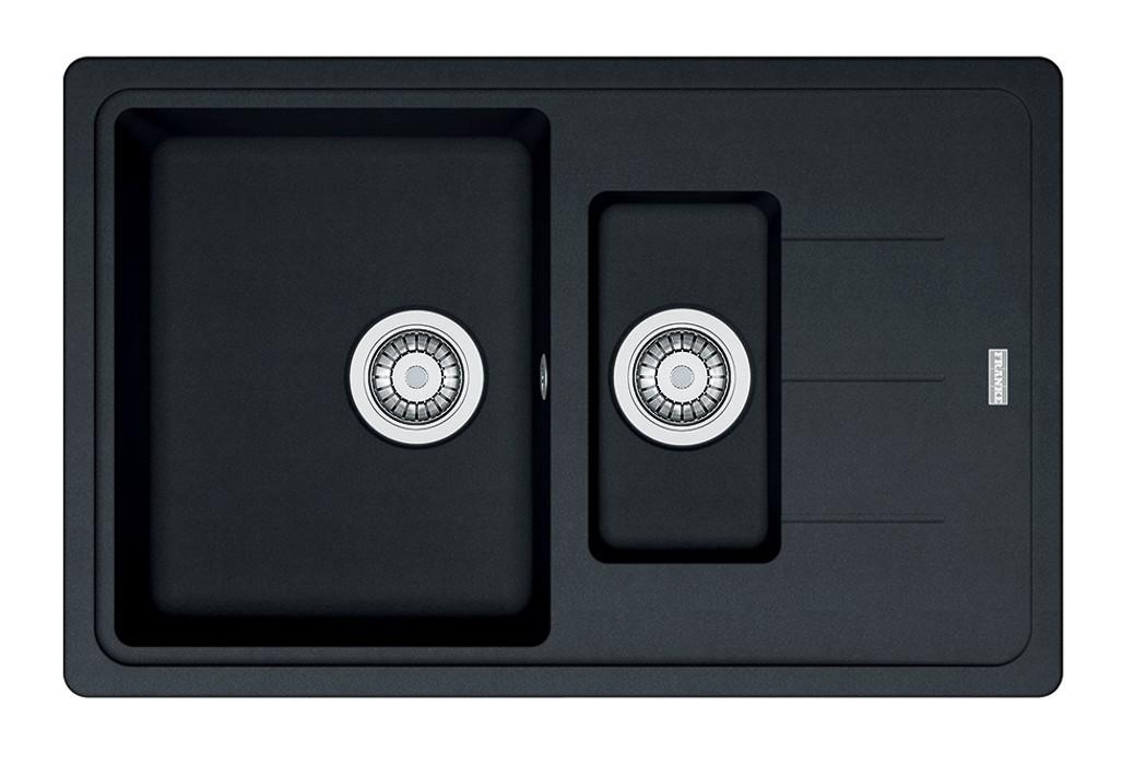 Dřez rovný Franke - dřez Fragranit BFG 651-78, 780x480 (onyx)