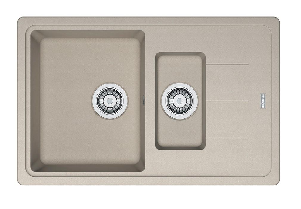 Dřez rovný Franke - dřez Fragranit BFG 651-78, 780x480 (sahara)