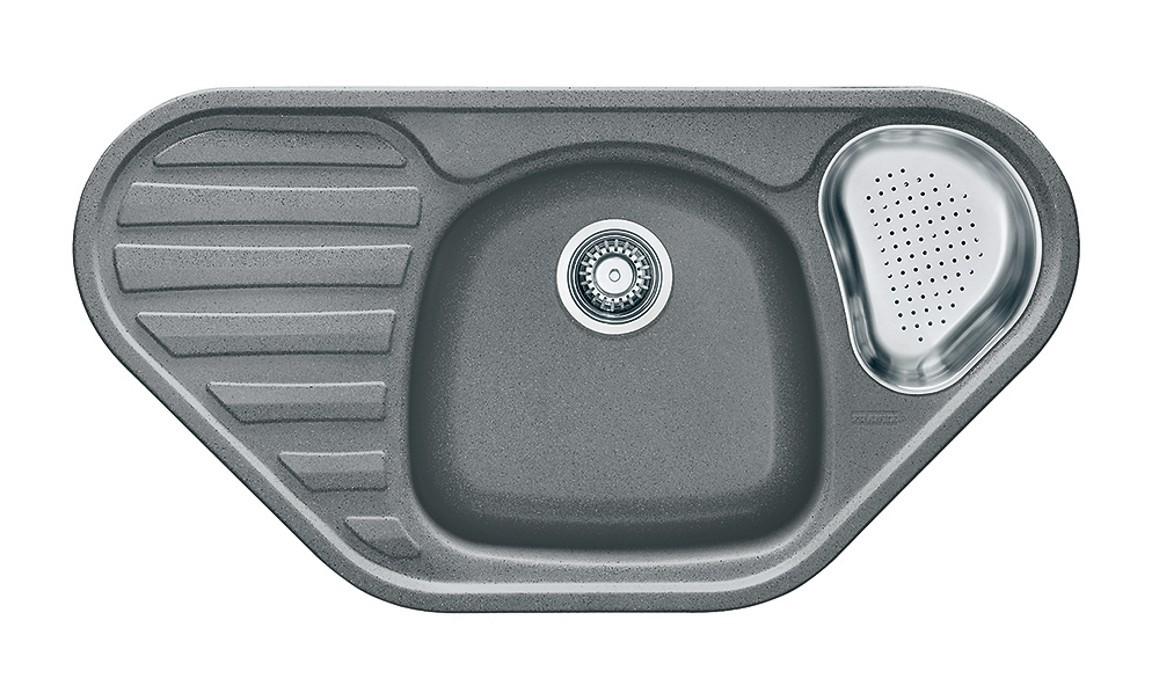Dřez rovný Franke - dřez Fragranit COG 651 E, 960x500 (šedý kámen)
