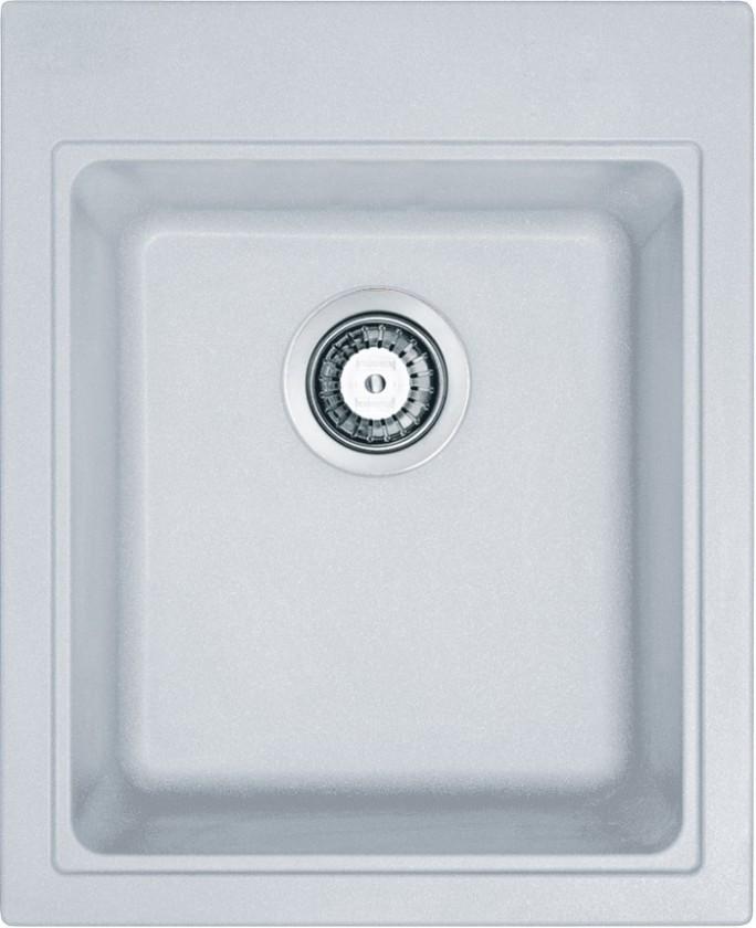 Dřez rovný Franke - dřez Fragranit KSG 218,, 425x520 mm (bílá-led)