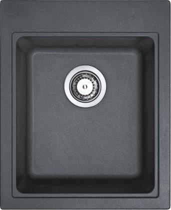 Dřez rovný Franke - dřez Fragranit KSG 218, 425x520 mm (grafit)
