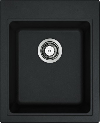 Dřez rovný Franke - dřez Fragranit KSG 218, 425x520 mm (onyx)