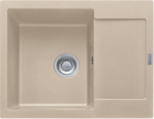 Dřez rovný Franke - dřez Fragranit MRG 611-62, 620x500 (pískový melír)