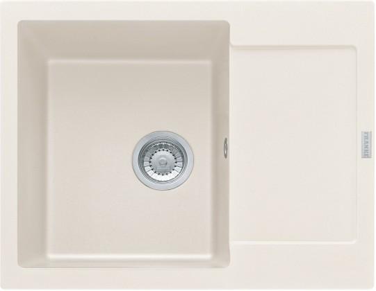 Dřez rovný Franke - dřez Fragranit MRG 611-62, 620x500 (vanilka)