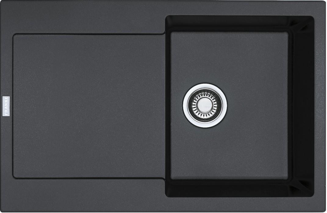 Dřez rovný Franke - dřez Fragranit MRG 611, 780x500 (onyx)