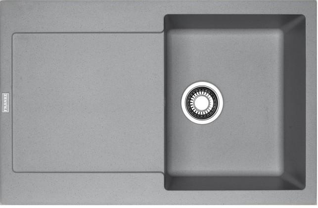 Dřez rovný Franke - dřez Fragranit MRG 611, 780x500 (šedý kámen)